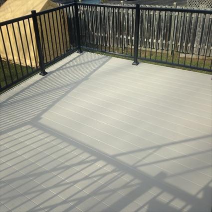 Plancher d aluminium for Plancher pour balcon exterieur