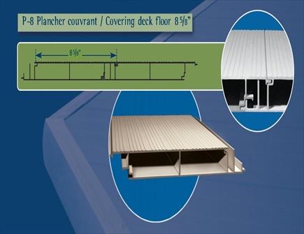 balcon en aluminium plancher en aluminium. Black Bedroom Furniture Sets. Home Design Ideas